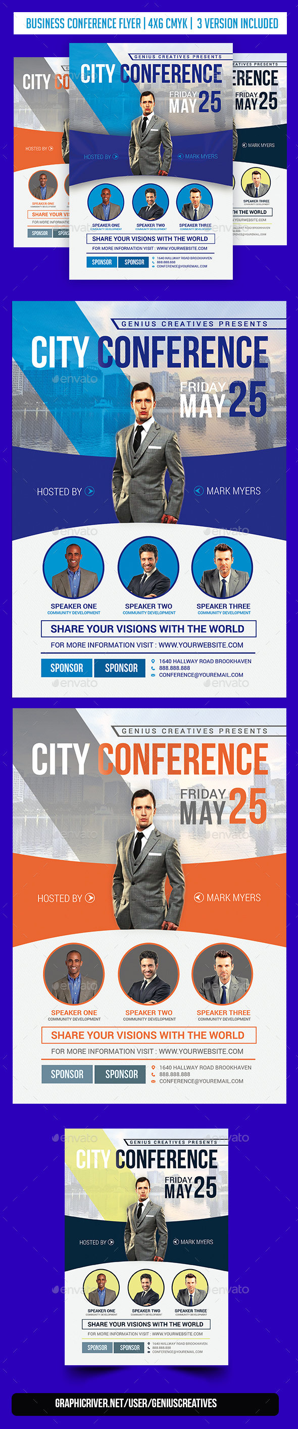 City Conference - Corporate Flyers