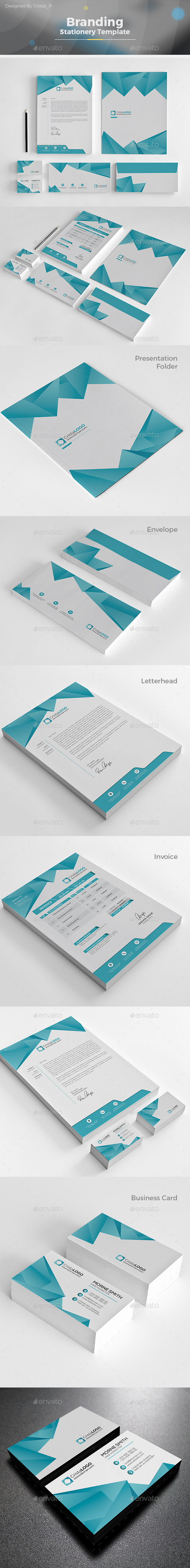 The Stationery - Stationery Print Templates