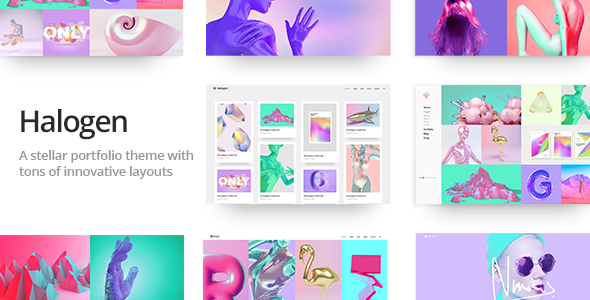 Halogen - A Stellar, Innovative Portfolio Theme