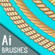 8 Marine Rope Pattern Brushes Set - GraphicRiver Item for Sale