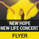 New Hope New Life Concert Flyer - GraphicRiver Item for Sale