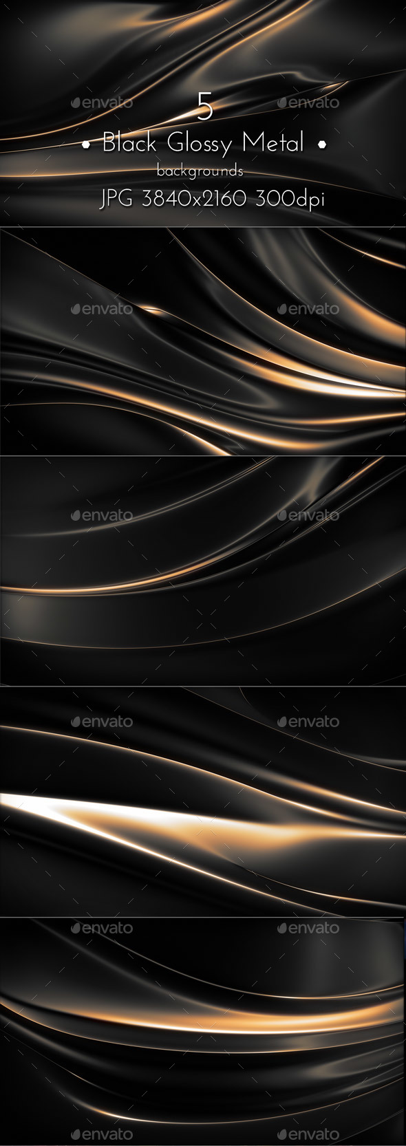 Black Glossy Background - Abstract Backgrounds