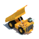 Dumper Truck Lowpoly - 3DOcean Item for Sale