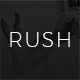 Rush - Blog PSD Template