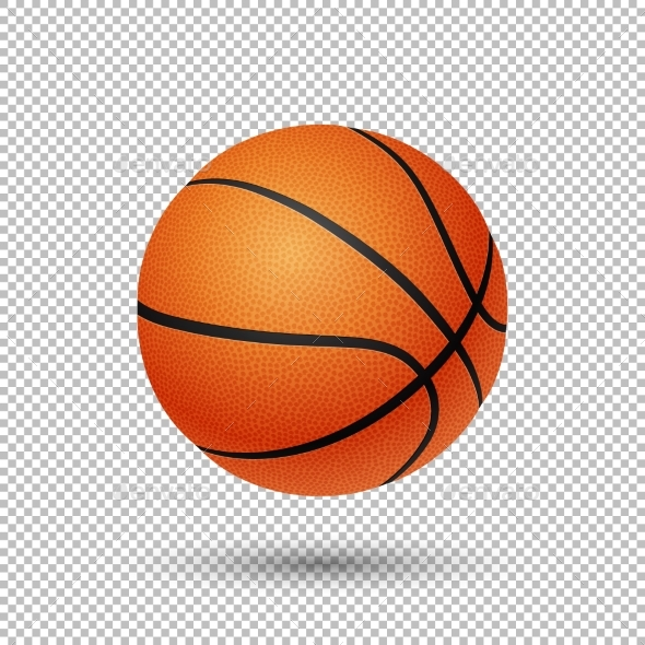 Vector Realistic Basketball - Sports/Activity Conceptual