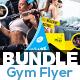 Fitness Flyer Bundle V10