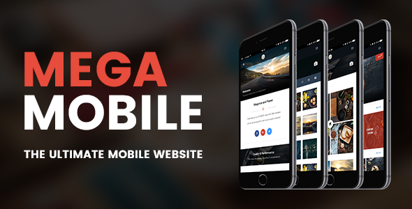 Image of Mega Mobile | Mobile Template