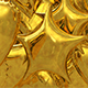 3D Gold Party Foil Balloon Transition - VideoHive Item for Sale