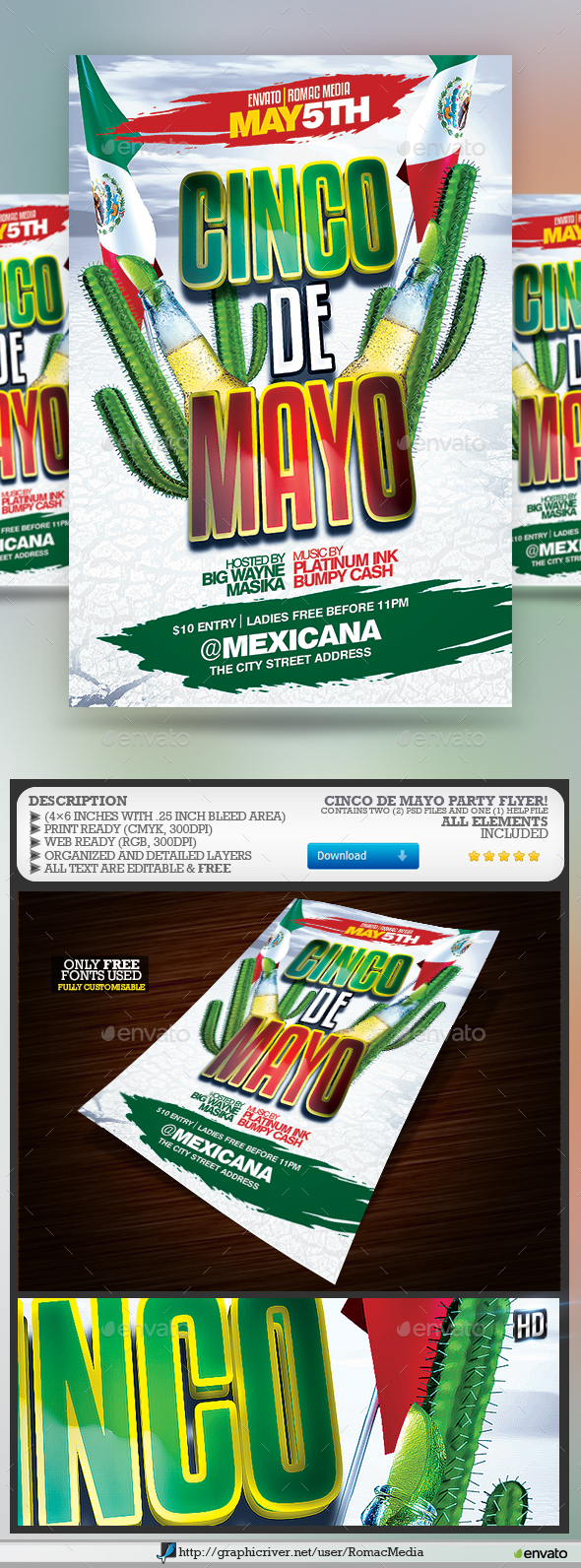 Cinco De Mayo Party - Clubs & Parties Events