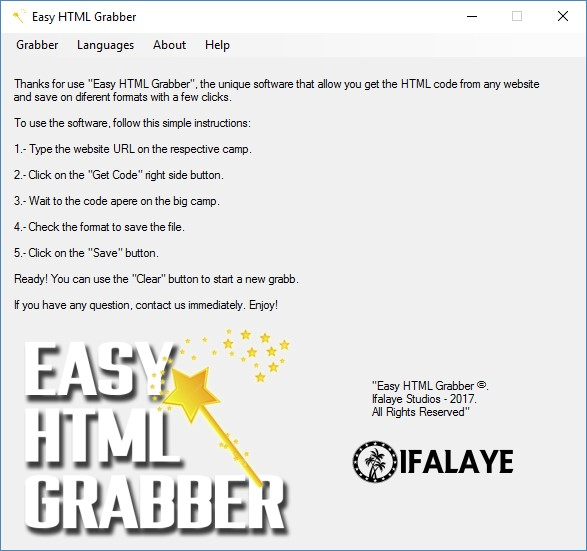 Easy HTML Grabber Get The HTML Code From Any Website By Ifalaye