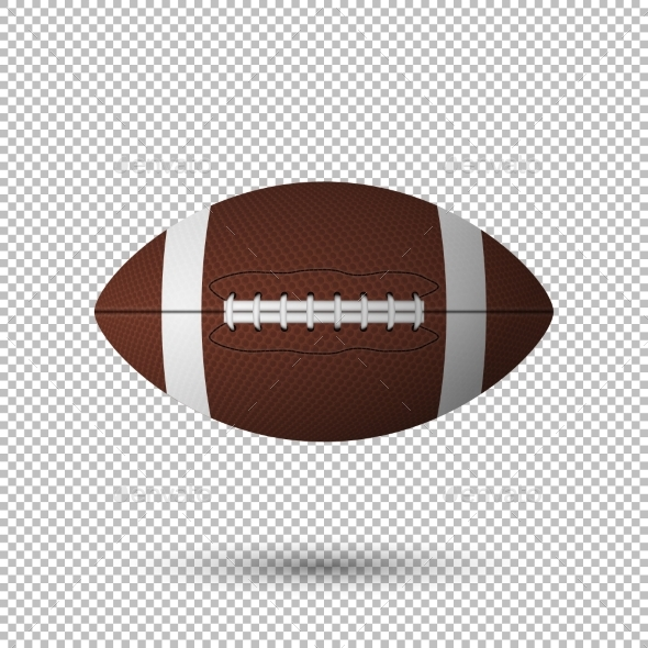 Vector Realistic Football - Sports/Activity Conceptual