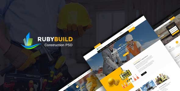 RubyBuild | Construction & Building PSD Template
