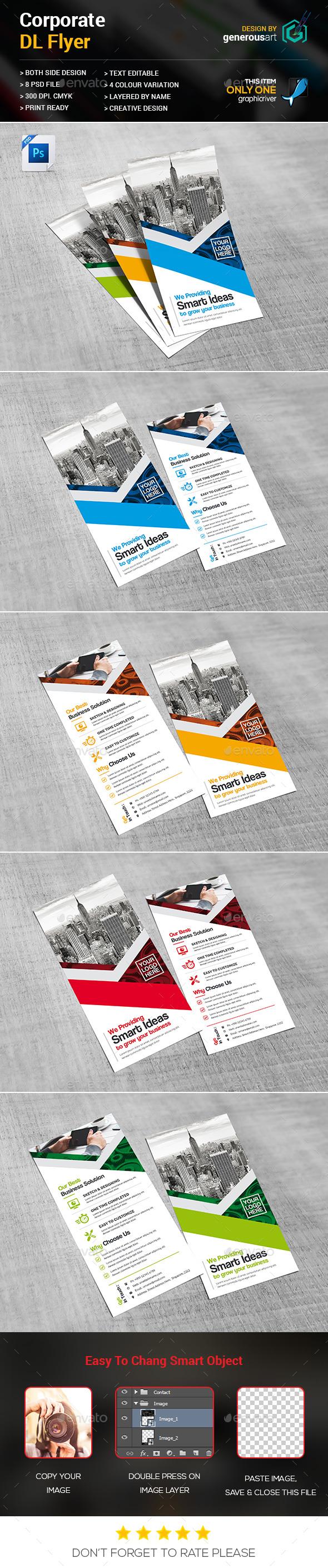 DL Flyer - Flyers Print Templates