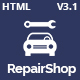 RepairShop - Car Repair & Car Wash Responsive HTML5 Template - ThemeForest Item for Sale