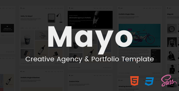 Mayo – Portfolio Template for Creative Professionals
