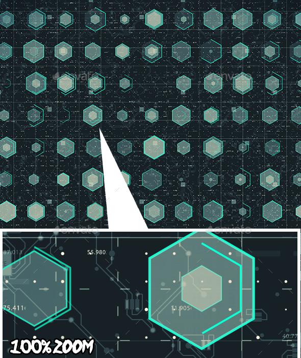 Digital Grid - Backgrounds Graphics
