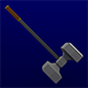 Lowpoly Great Hammer - 3DOcean Item for Sale