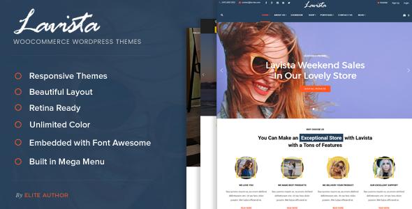 Lavista - Fashion Woocommerce WordPress Theme