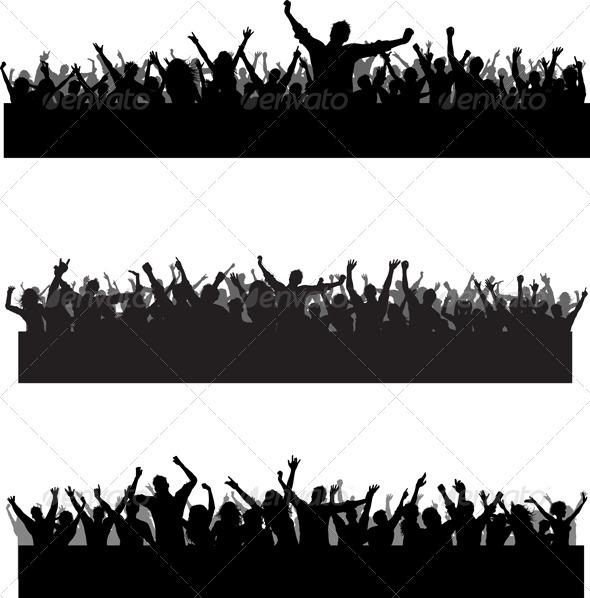 Crowd scenes - People Characters