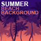 Summer Beach Backgrounds - VideoHive Item for Sale