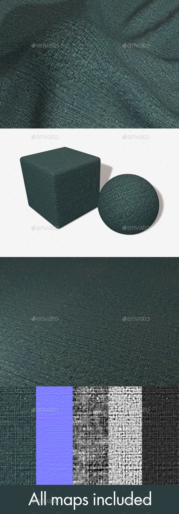 Denim Hatch Seamless Texture - 3DOcean Item for Sale