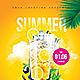 Summer Drinks Flyer - GraphicRiver Item for Sale