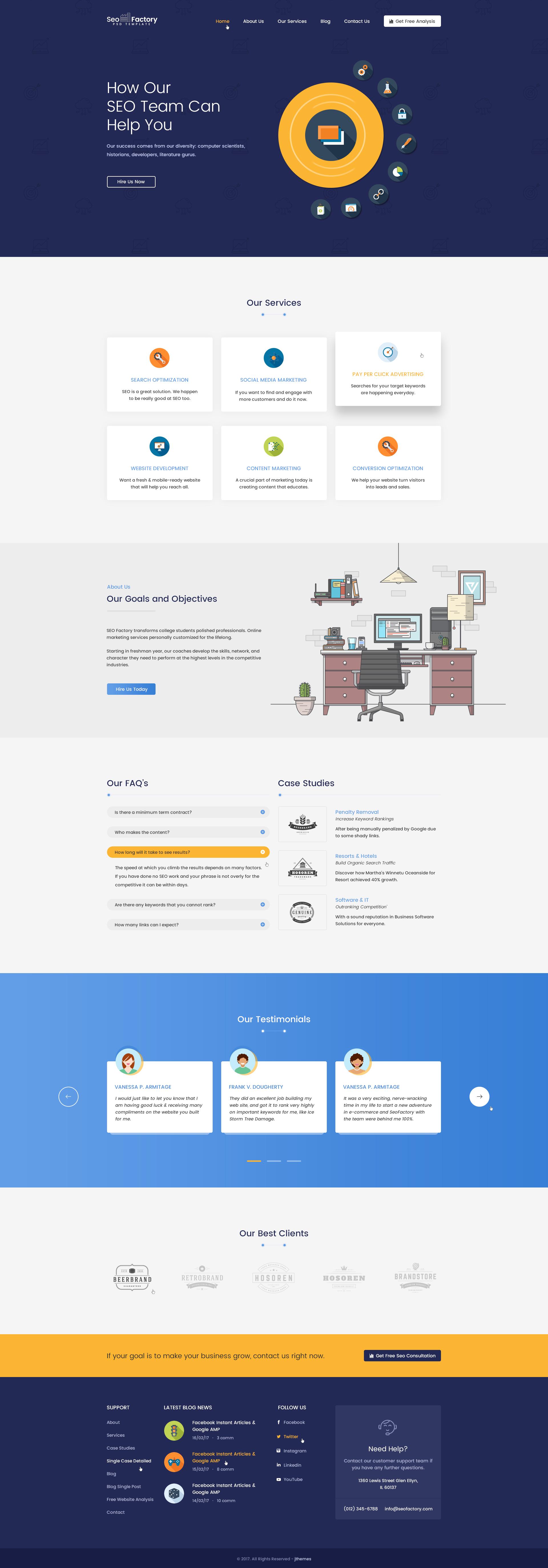 SEO Factory - SEO Agency, Social Media Agency, Digital Marketing ...