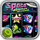 Slot Machine Space Adventure - HTML5 Casino game
