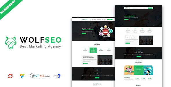 Image of WOLFSEO - Digital Marketing Agency WordPress Theme