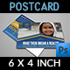 Kids Charity Postcard Template Vol.2 - GraphicRiver Item for Sale