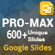Pro-Max Multipurpose Google Slides Bundle - GraphicRiver Item for Sale