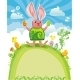 Easter Greeting Card. - GraphicRiver Item for Sale