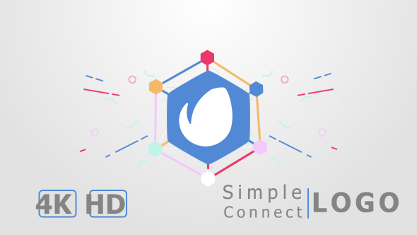 Simple Connect Logo Reveal