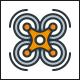 Drone Shop Logo Template - GraphicRiver Item for Sale