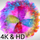 Blooming Particles Logo 4k - VideoHive Item for Sale