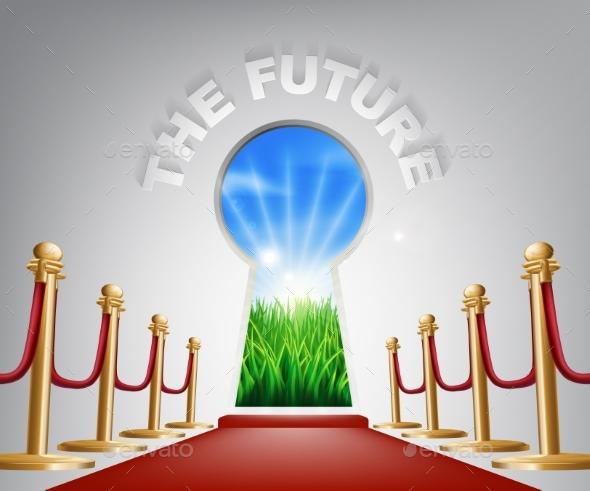 The Future Conceptual Illustration - Landscapes Nature