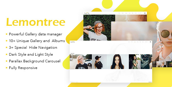 Lemontree - Photography & Portfolio WordPress Theme - Photography Creative