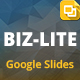 Biz-Lite Multipurpose Google Slides Bundle - GraphicRiver Item for Sale