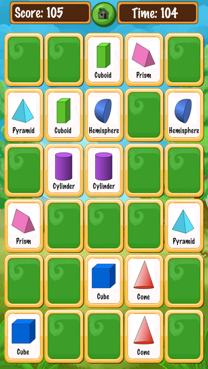 card match memory kids games unity game template for android ios