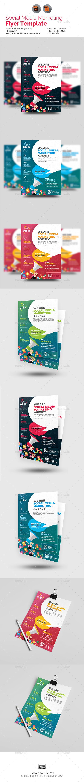 Social Media Marketing Flyer V3 - Corporate Flyers
