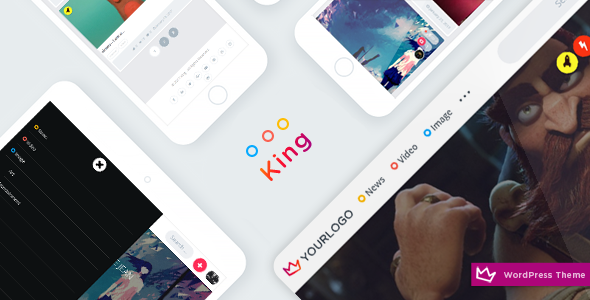 King – WordPress Viral Theme