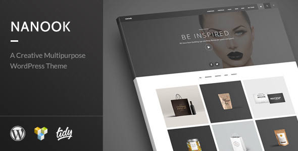 Nanook – Creative Modern Multipurpose WordPress Theme