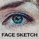 Face Sketch - Photoshop Actions - GraphicRiver Item for Sale