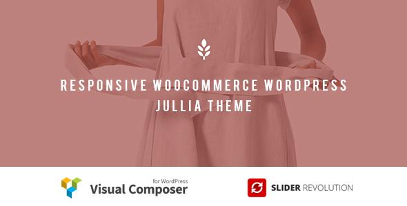 Julia - Responsive WooCommerce WordPress Theme - WooCommerce eCommerce