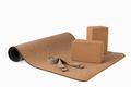 Yoga Cork Mat, Blocks Premium Non slip Eco Friendly