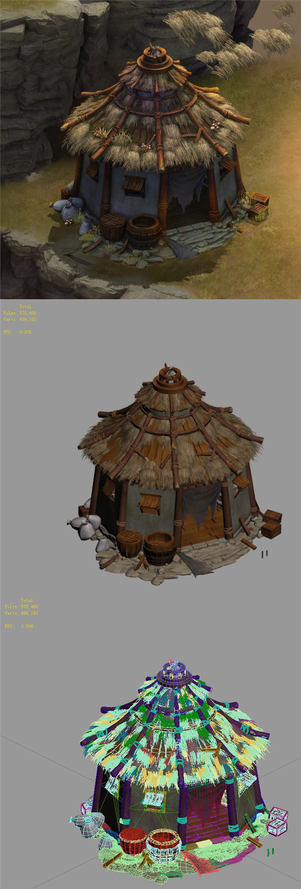 Field - Zhuojun Army Granary 01 - 3DOcean Item for Sale