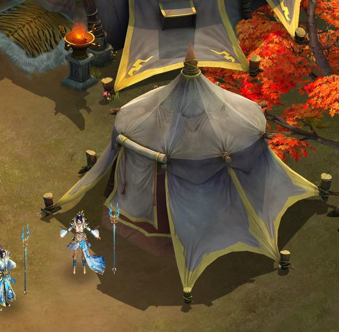 Field - Zhuojun army small tent