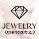 Jewelry - Responsive Opencart 2.3 Theme Nulled