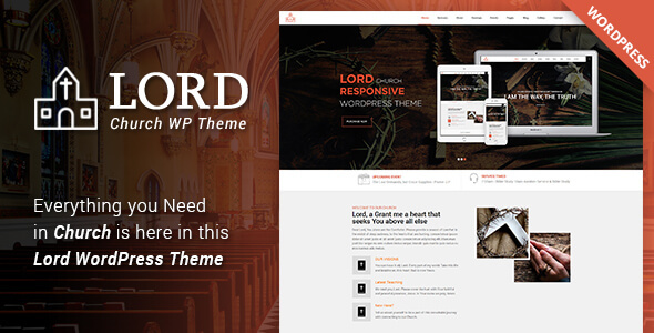 Lord - Church WordPress Theme - Churches Nonprofit