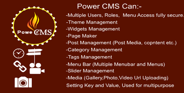 Power CMS (Content Management System) Open Source Mvc 5 - CodeCanyon Item for Sale